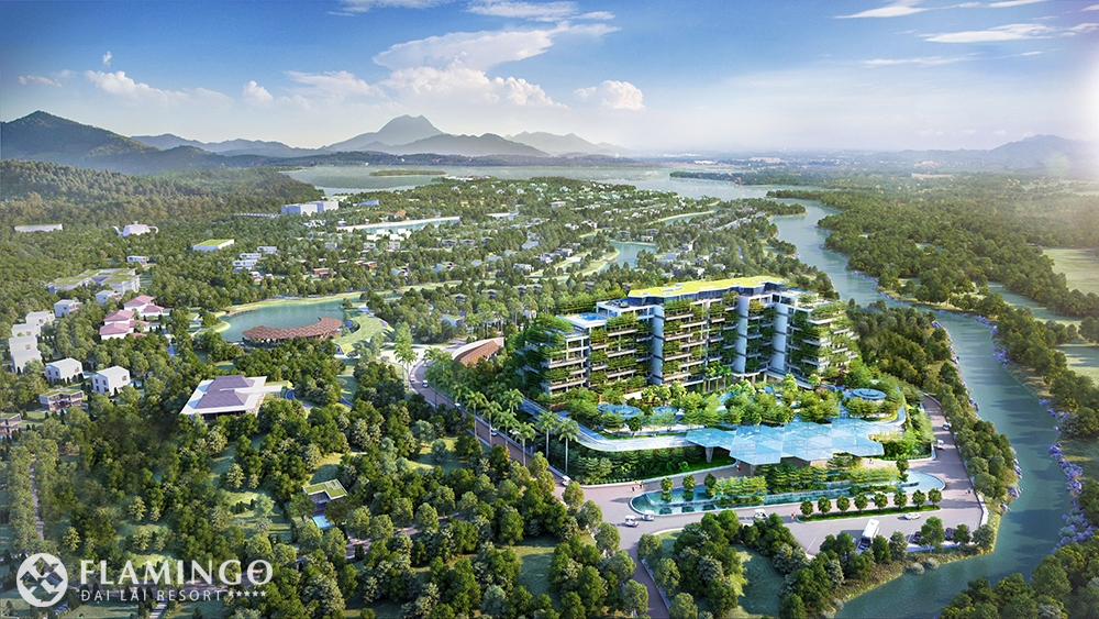 Phối cảnh Forest in the Sky Flamingo