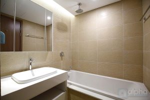 Partly furnished apartment for rent in Vinhomes Metropolis 6