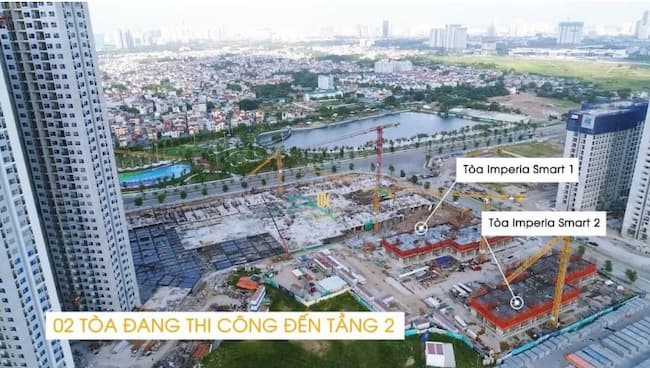 tien do xay dung imperia smart city